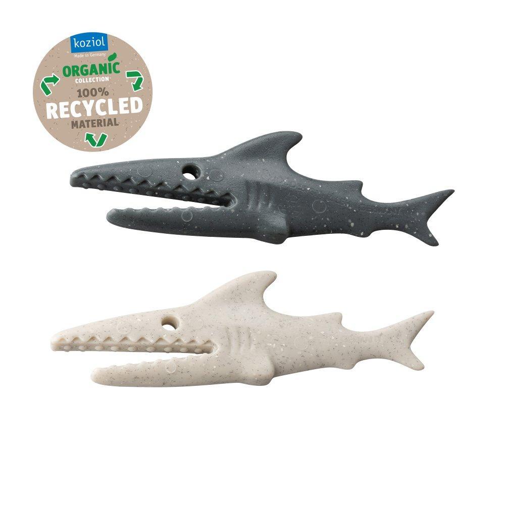 SHARKY Set of 20 RECYCLED DESERT SAND-NATURE GREY