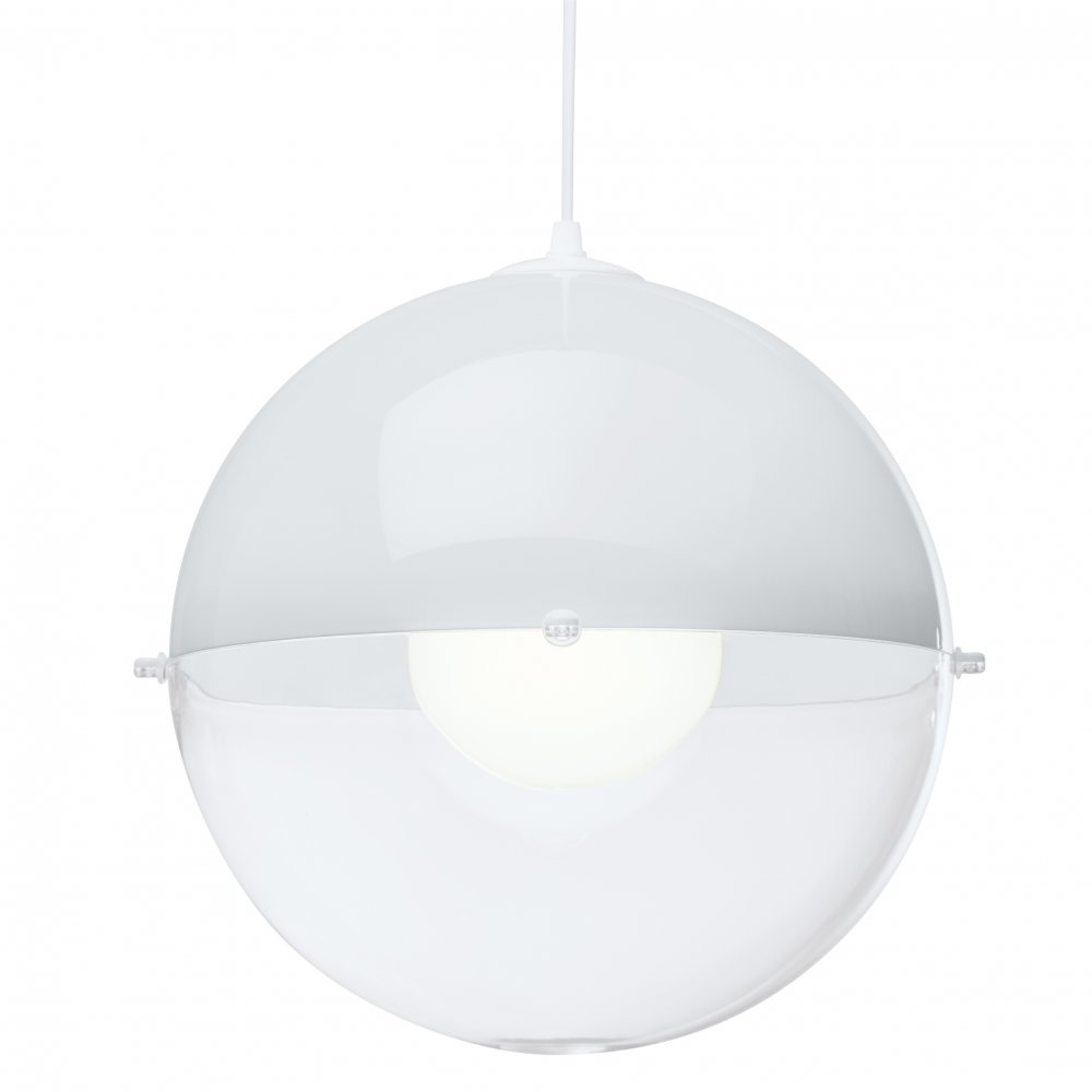 ORION Hanging Light crystal clear/cotton white