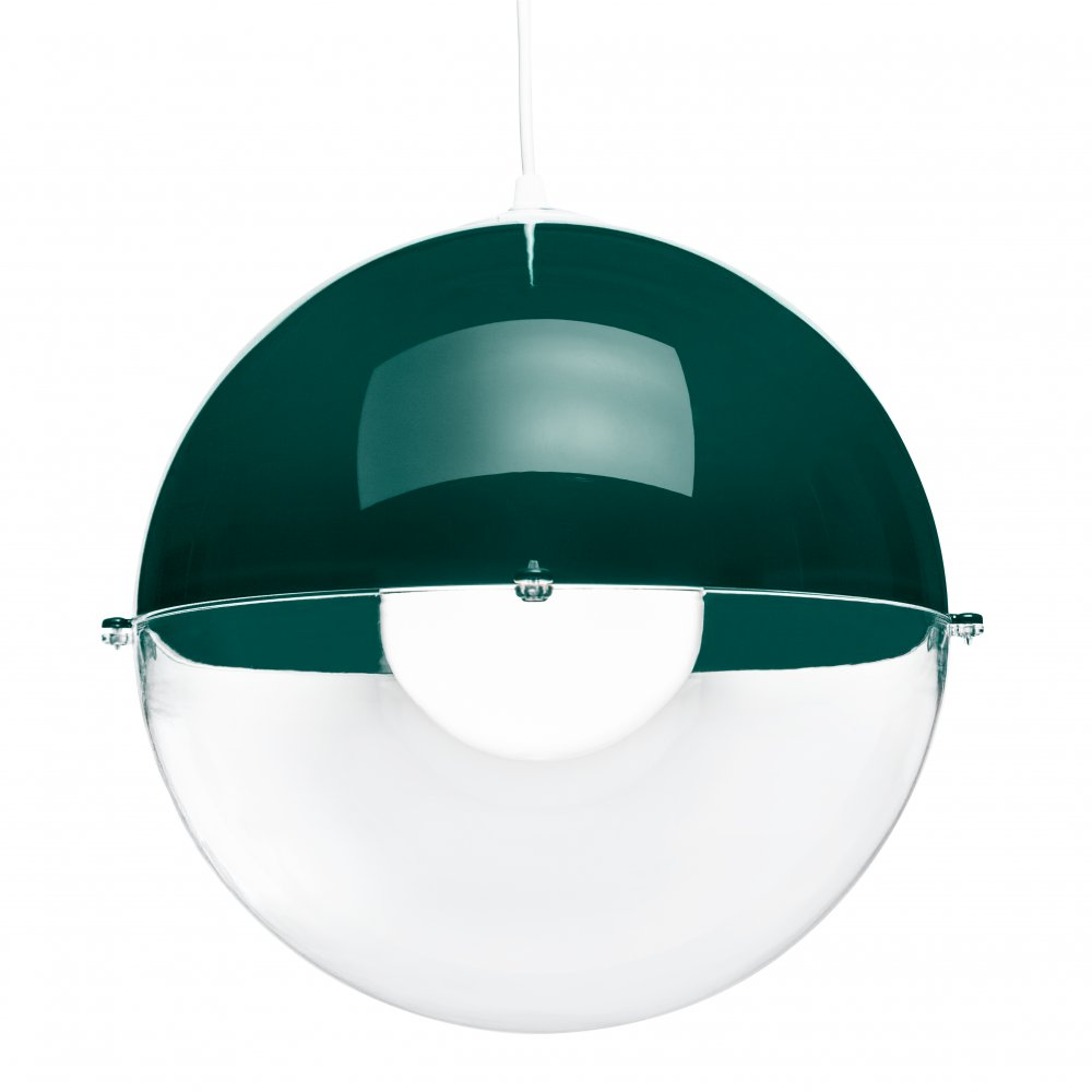 ORION Pendelleuchte emerald green-crystal clear