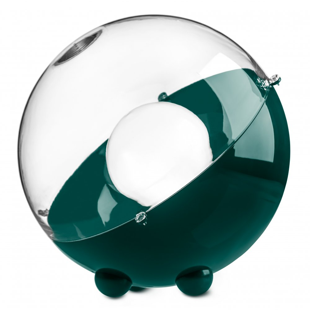 ORION Floor Lamp emerald green-crystal clear
