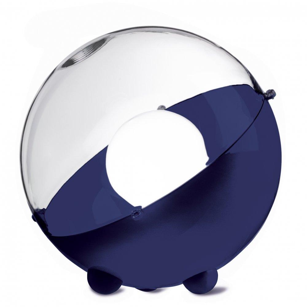 ORION Bodenleuchte crystal clear/deep velvet blue