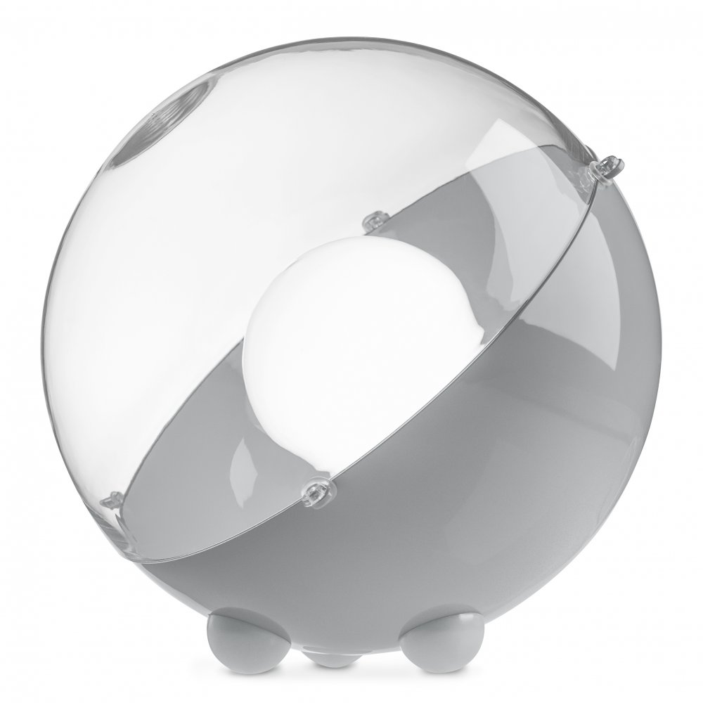 ORION Bodenleuchte crystal clear/cool grey