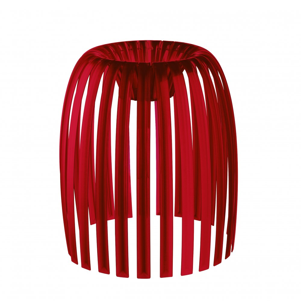 JOSEPHINE M lampshade transparent red