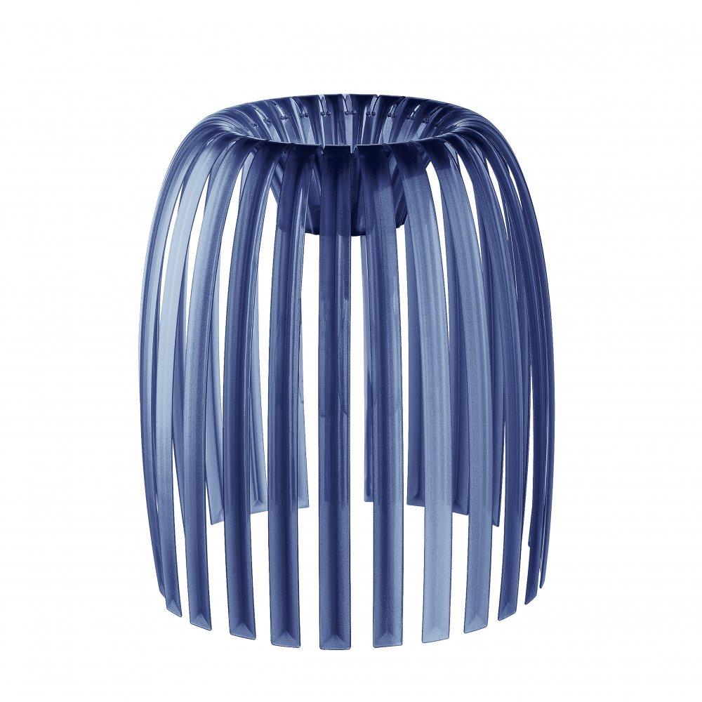 JOSEPHINE M Lampenschirm transparent deep velvet blue