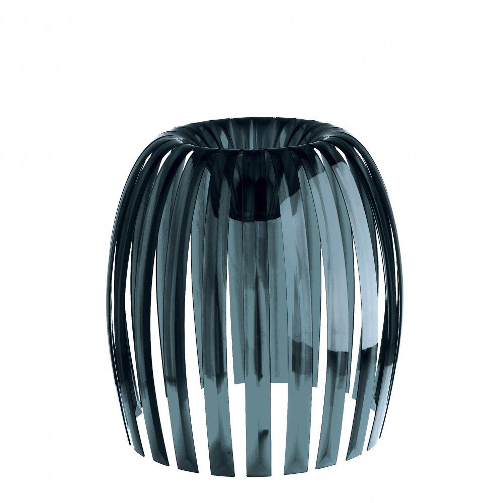 JOSEPHINE XL Lampenschirm transparent grey