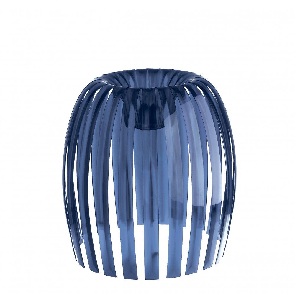 JOSEPHINE XL Lampenschirm transparent deep velvet blue