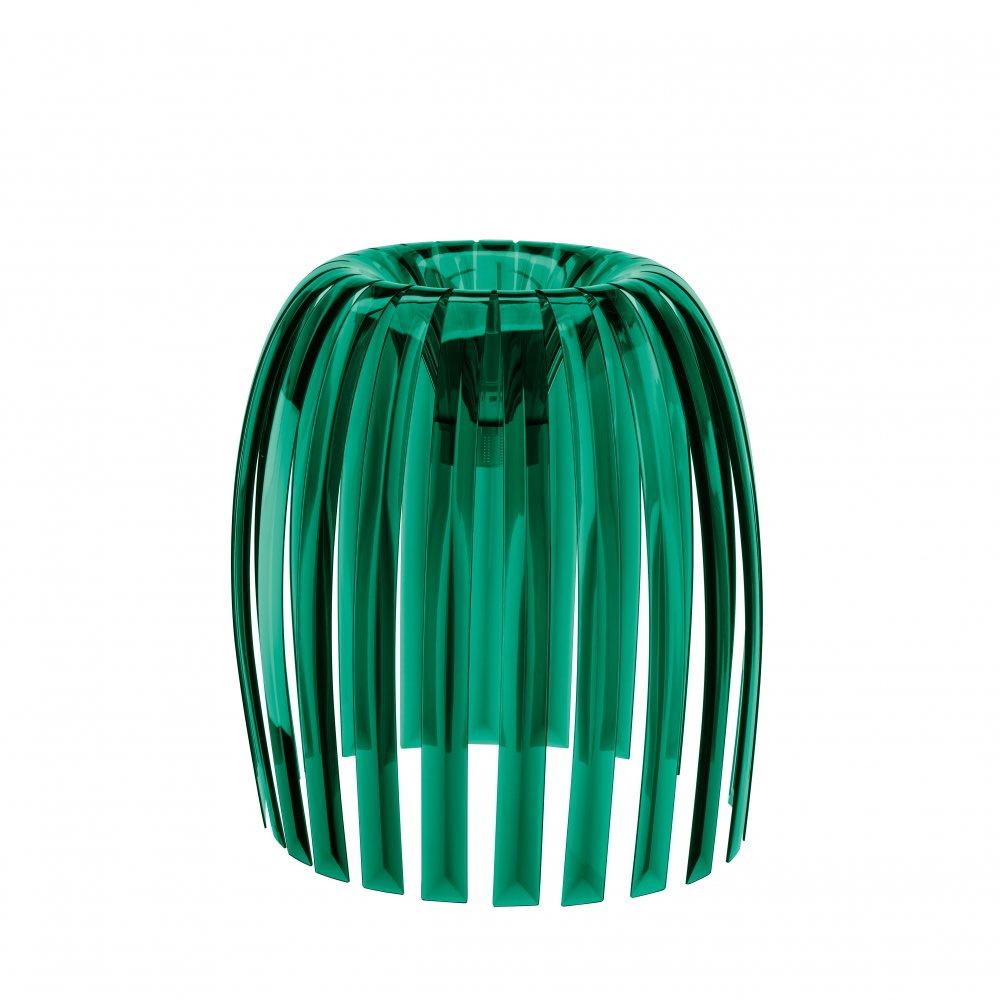 JOSEPHINE XL Lampenschirm transparent emerald green
