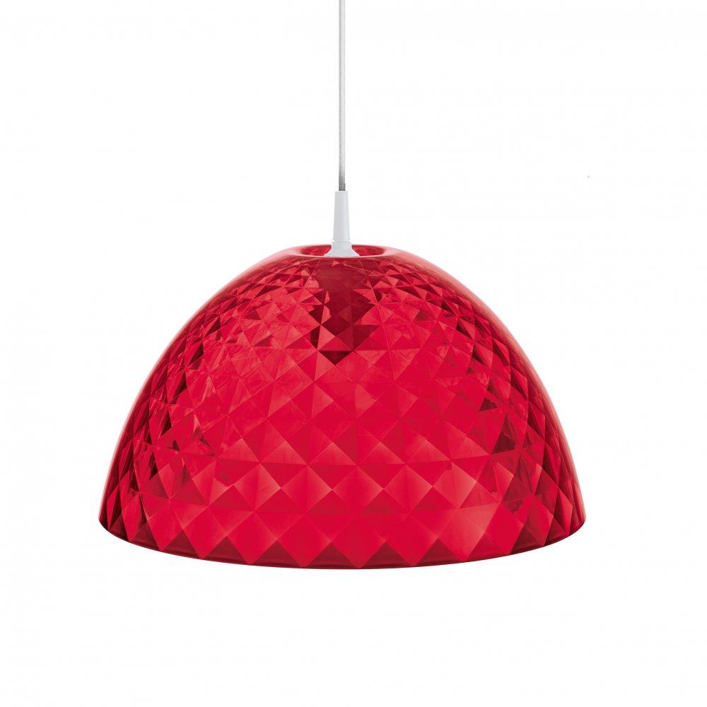 STELLA Hanging Light transp. red