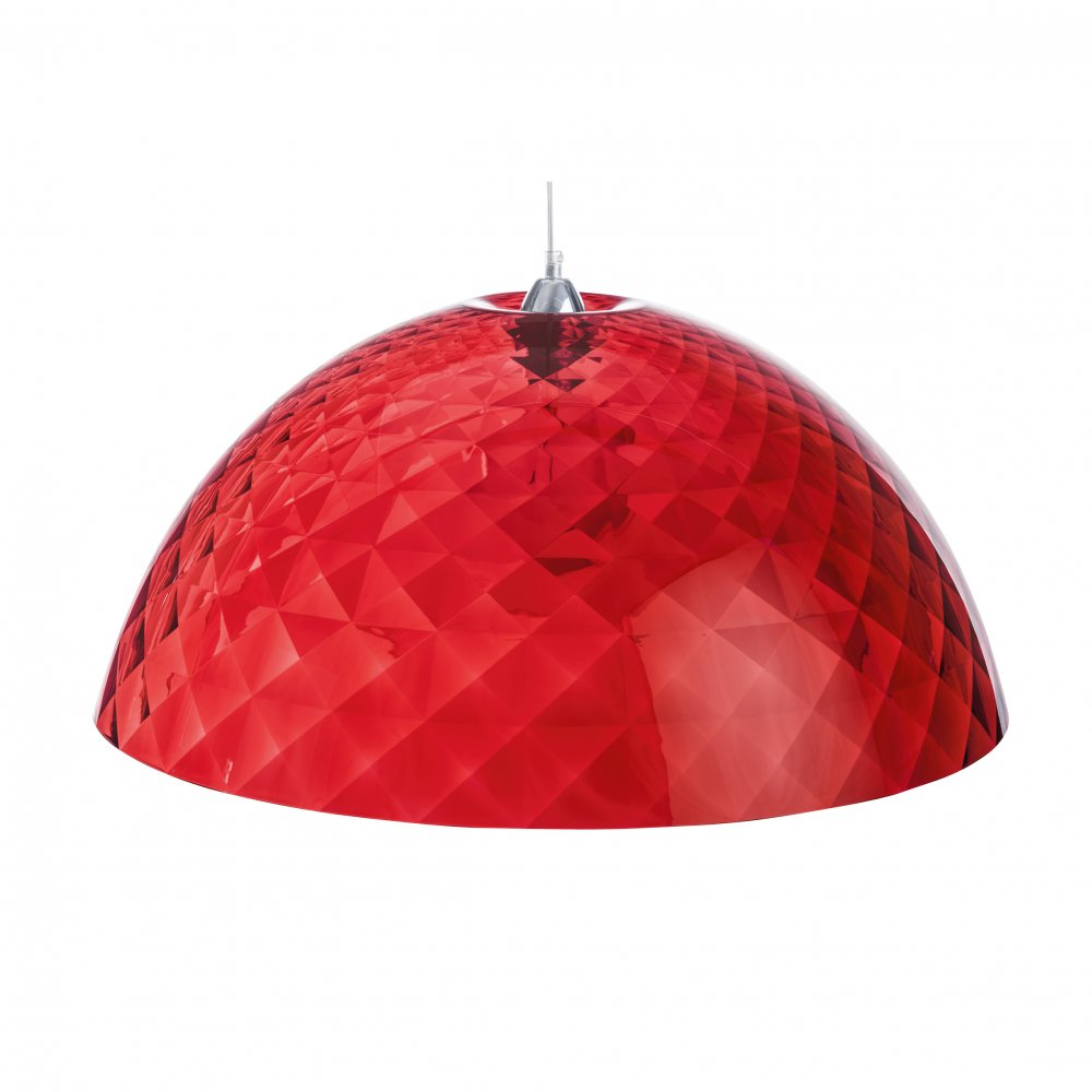 STELLA XL Hanging Light transp. red