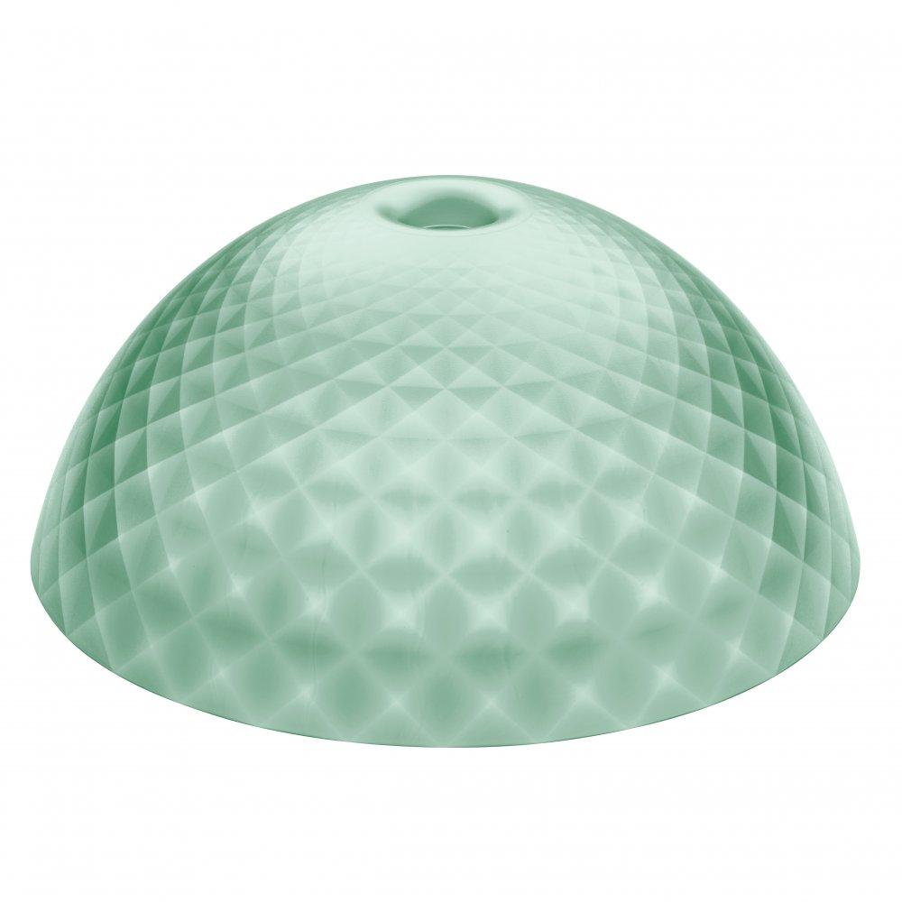 STELLA SILK XL Lampenschirm transparent eucalyptus green
