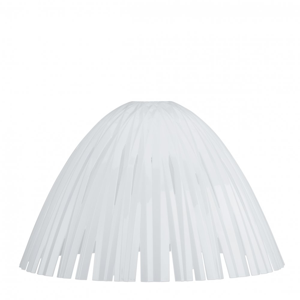 REED lampshade cotton white