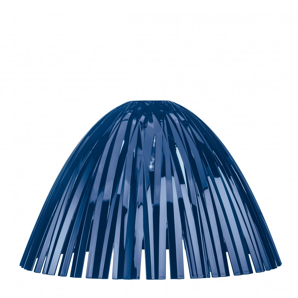 REED Lampenschirm transparent deep velvet blue