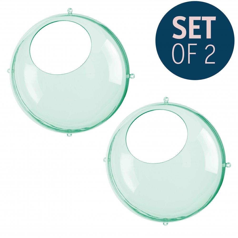 ORION Hängedisplay 2er-Set transparent jade