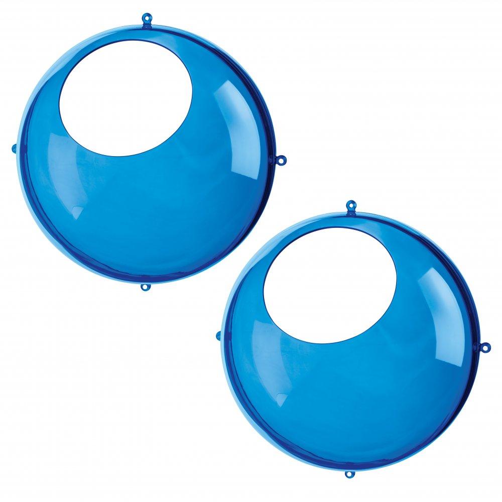 ORION Hängedisplay 2er-Set transparent azure blue