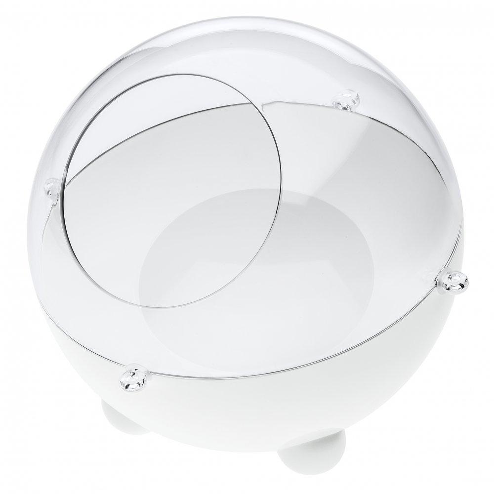 ORION SMALL Vorratsdose crystal clear/cotton white
