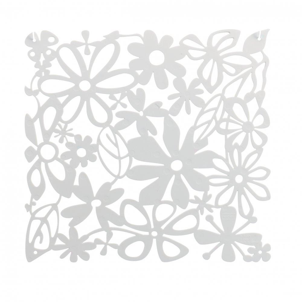 ALICE Raumteiler Dekoelement 4er-Set cotton white
