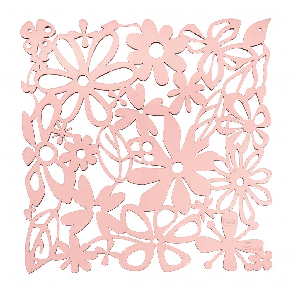 ALICE Room divider Ornament Set of 4 powder pink