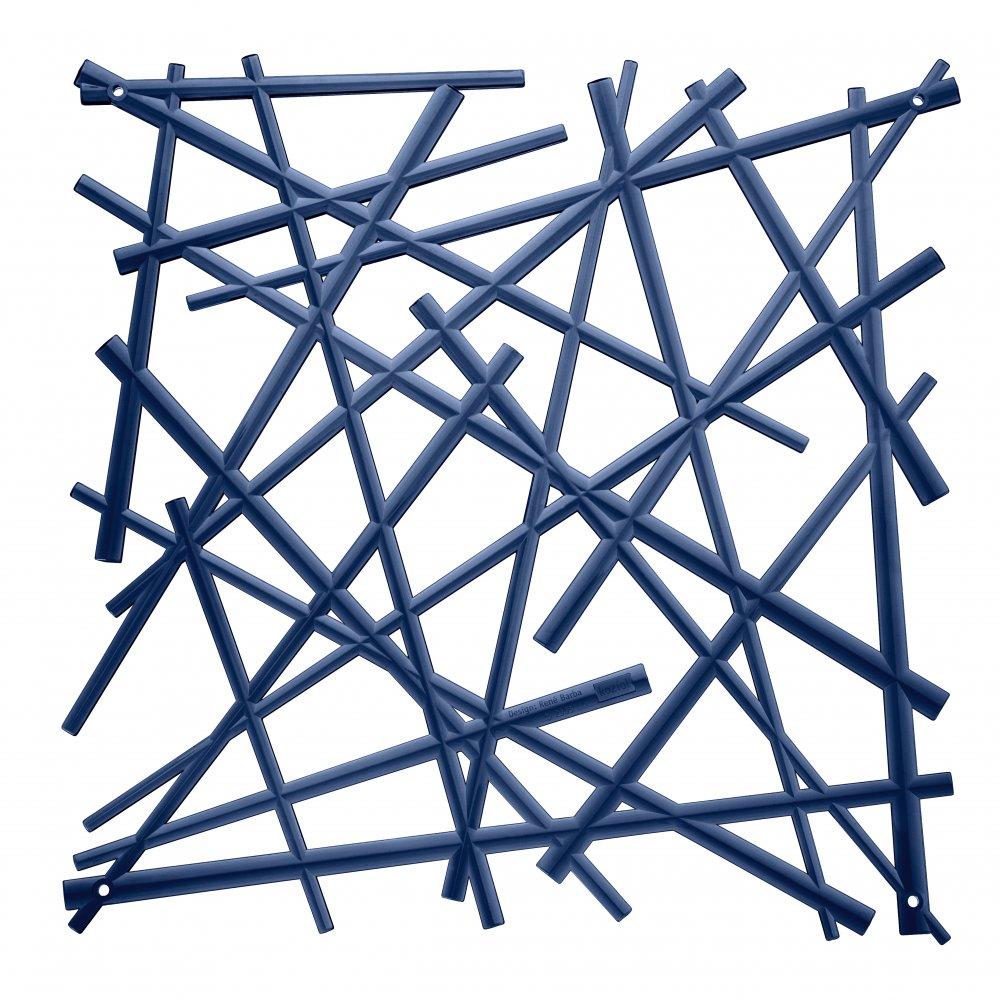STIXX Raumteiler Dekoelement 4er-Set deep velvet blue