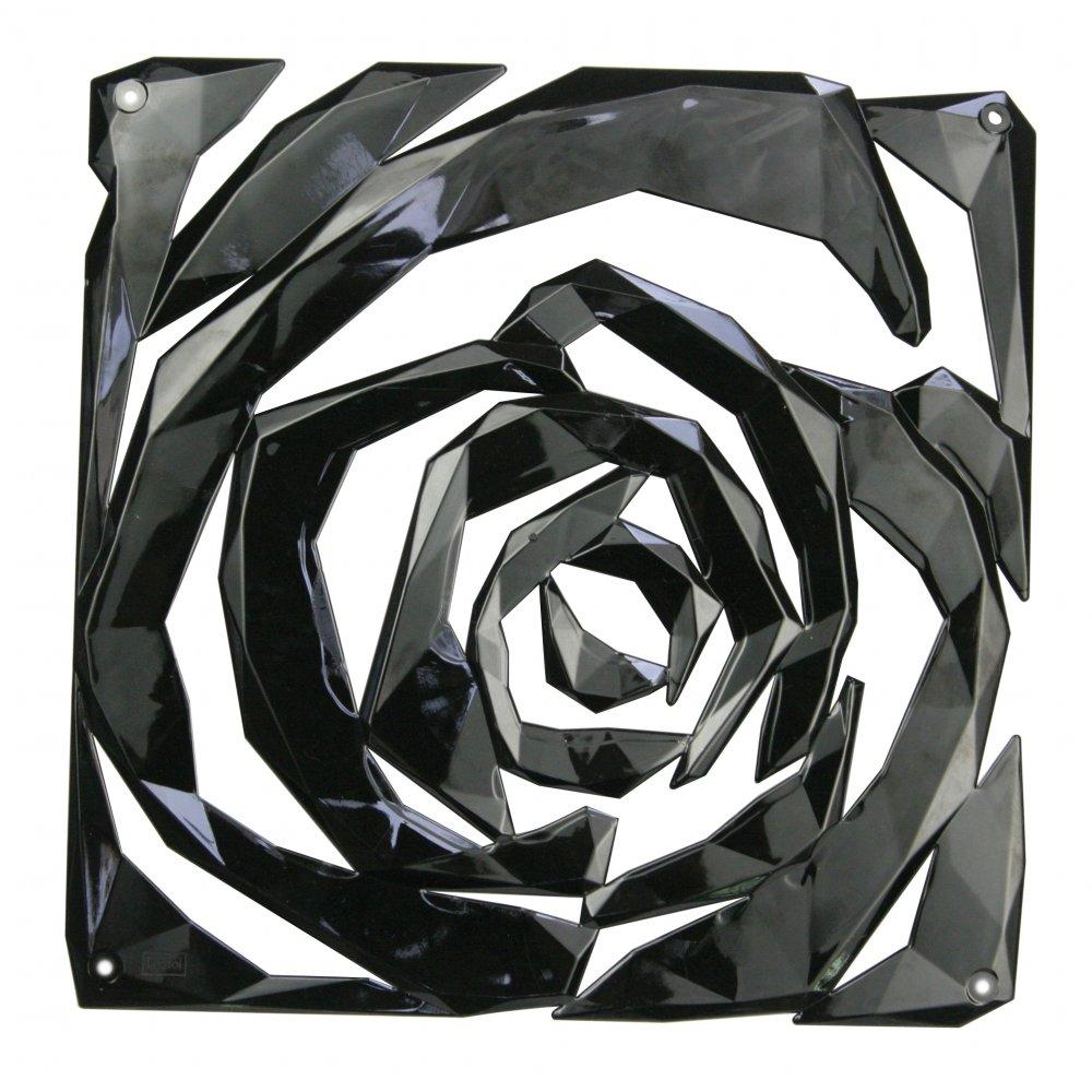 ROMANCE Room divider Ornament Set of 4 cosmos black