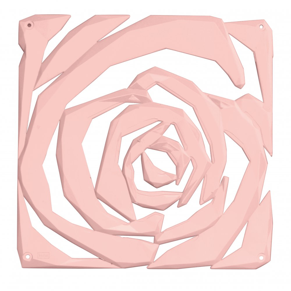 ROMANCE Room divider Ornament Set of 4 powder pink