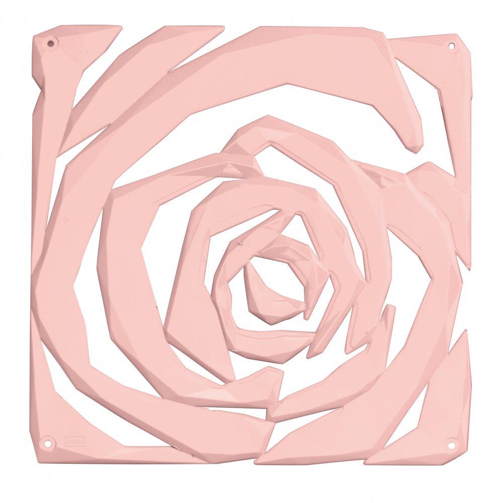 ROMANCE Raumteiler Dekoelement 4er-Set powder pink