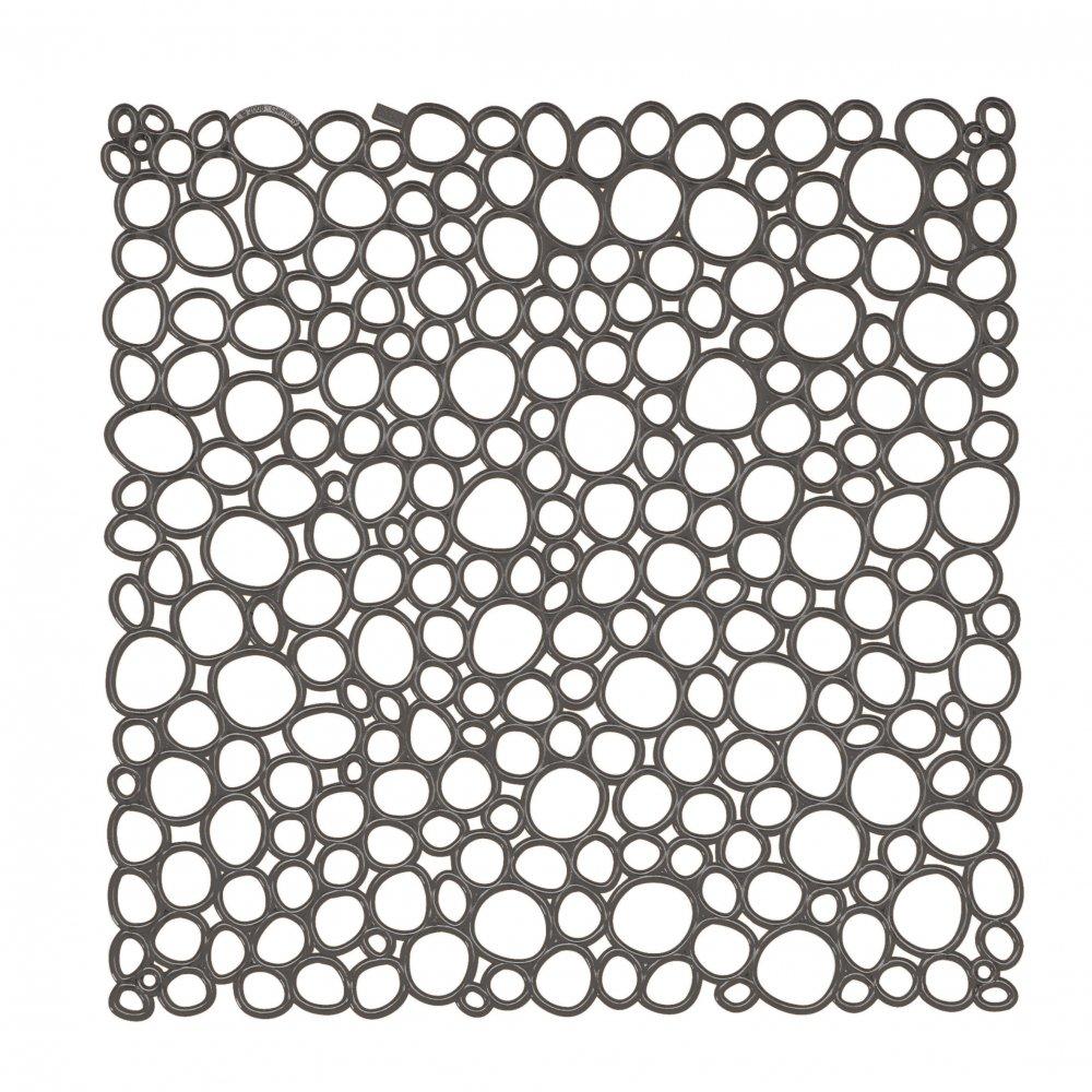 OXYGEN Raumteiler Dekoelement 4er-Set transparent grey