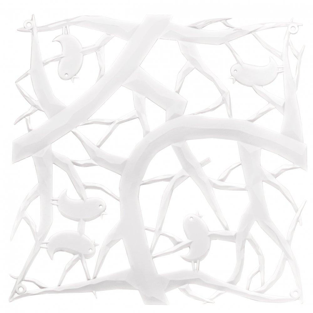 [pi:p] Raumteiler Dekoelement 4er-Set cotton white
