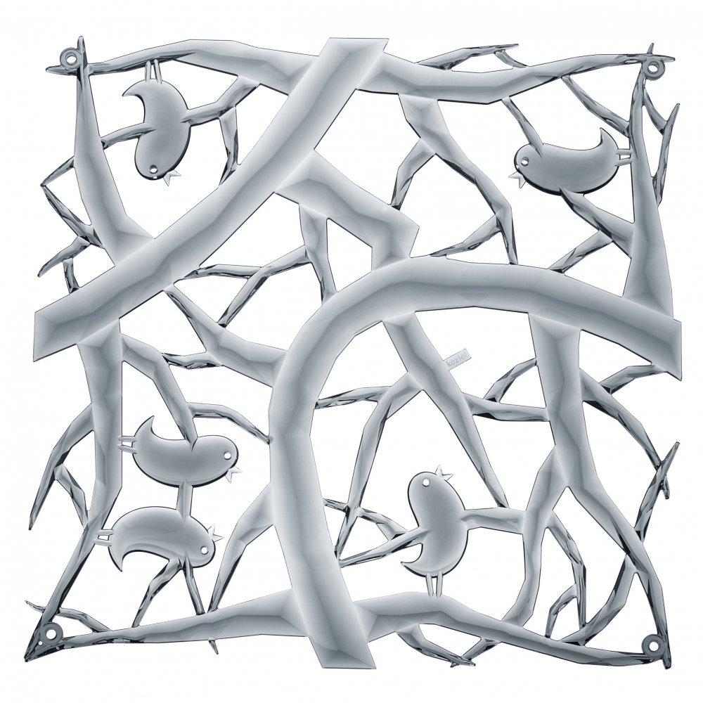 [pi:p] Raumteiler Dekoelement 4er-Set transparent grey