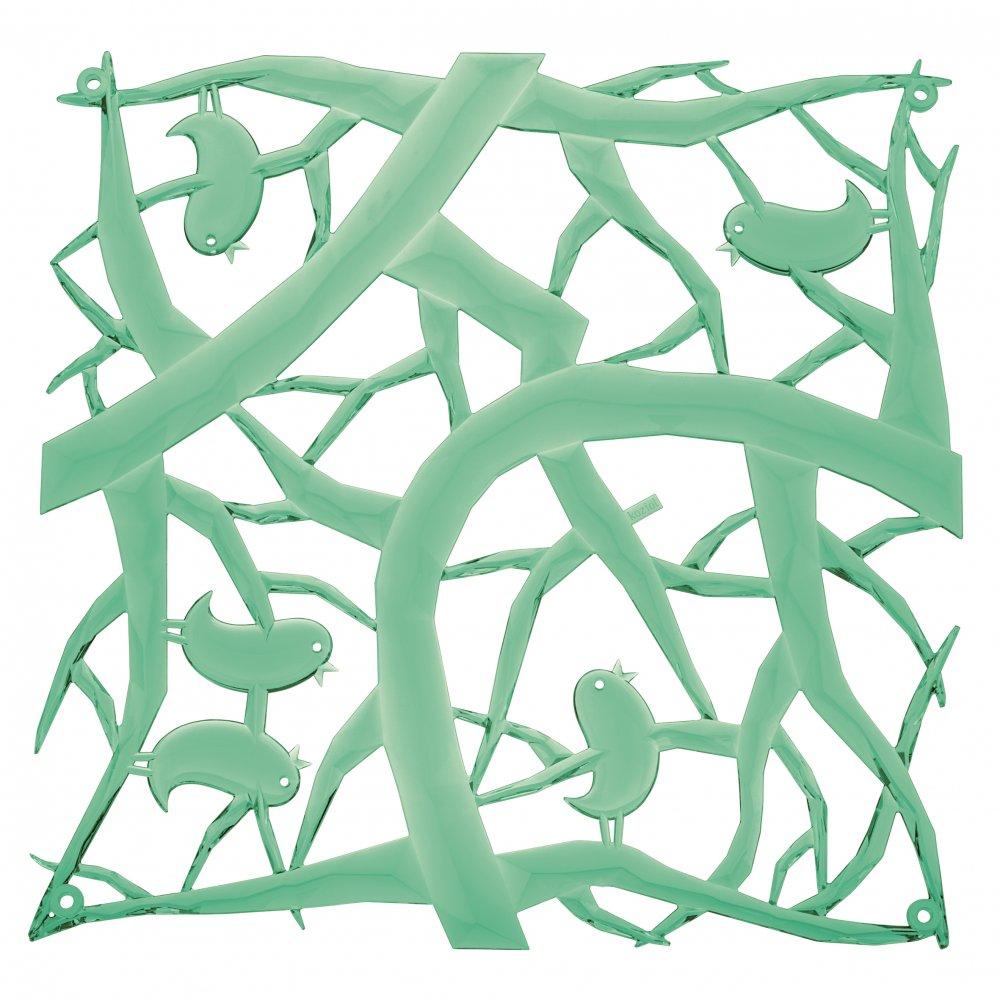 [pi:p] Room divider Ornament Set of 4 transparent mint