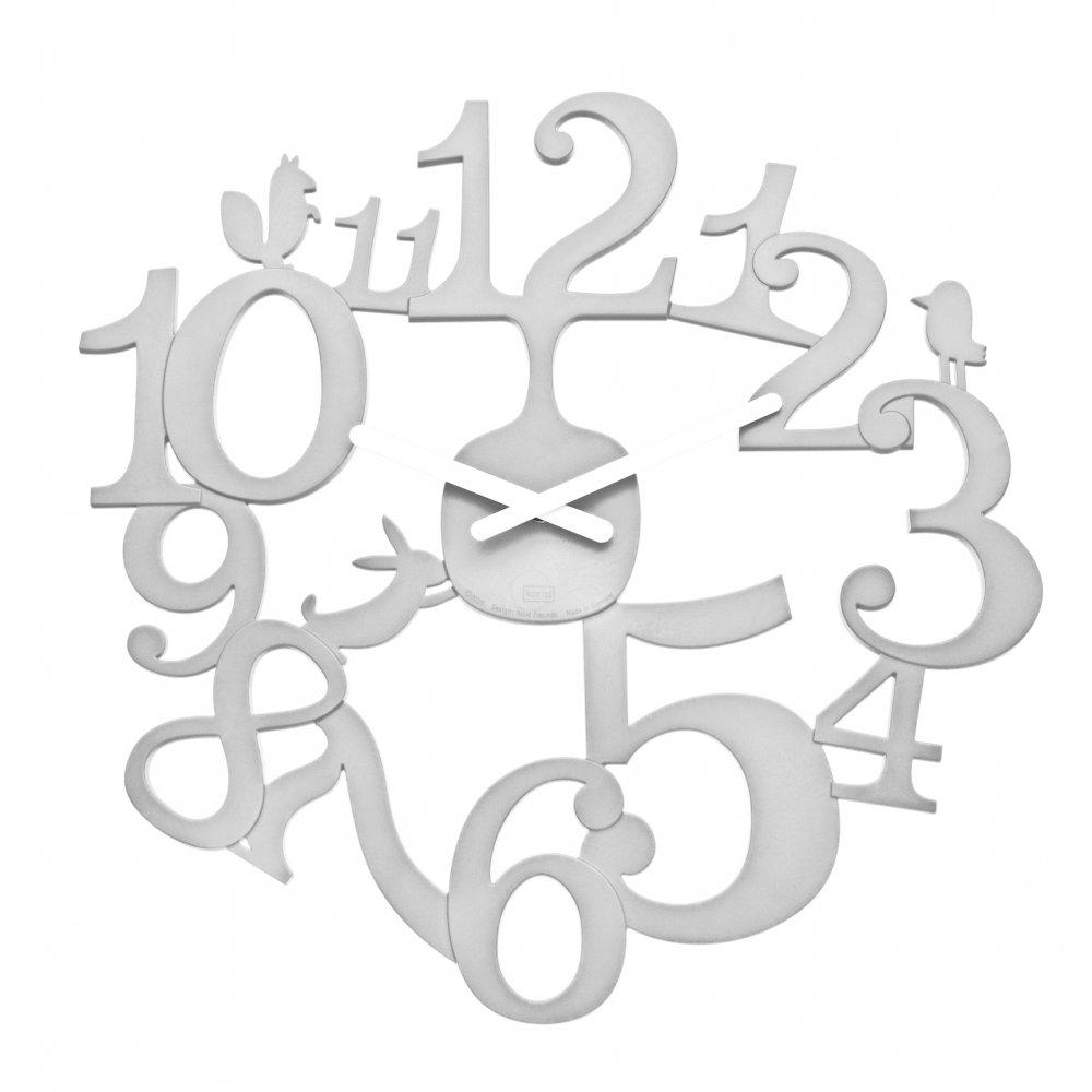 [pi:p] Wall Clock cotton white