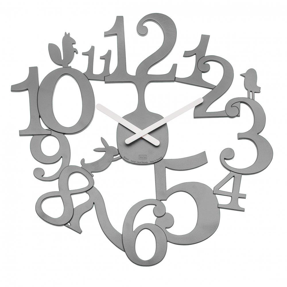 [pi:p] Wall Clock cool grey