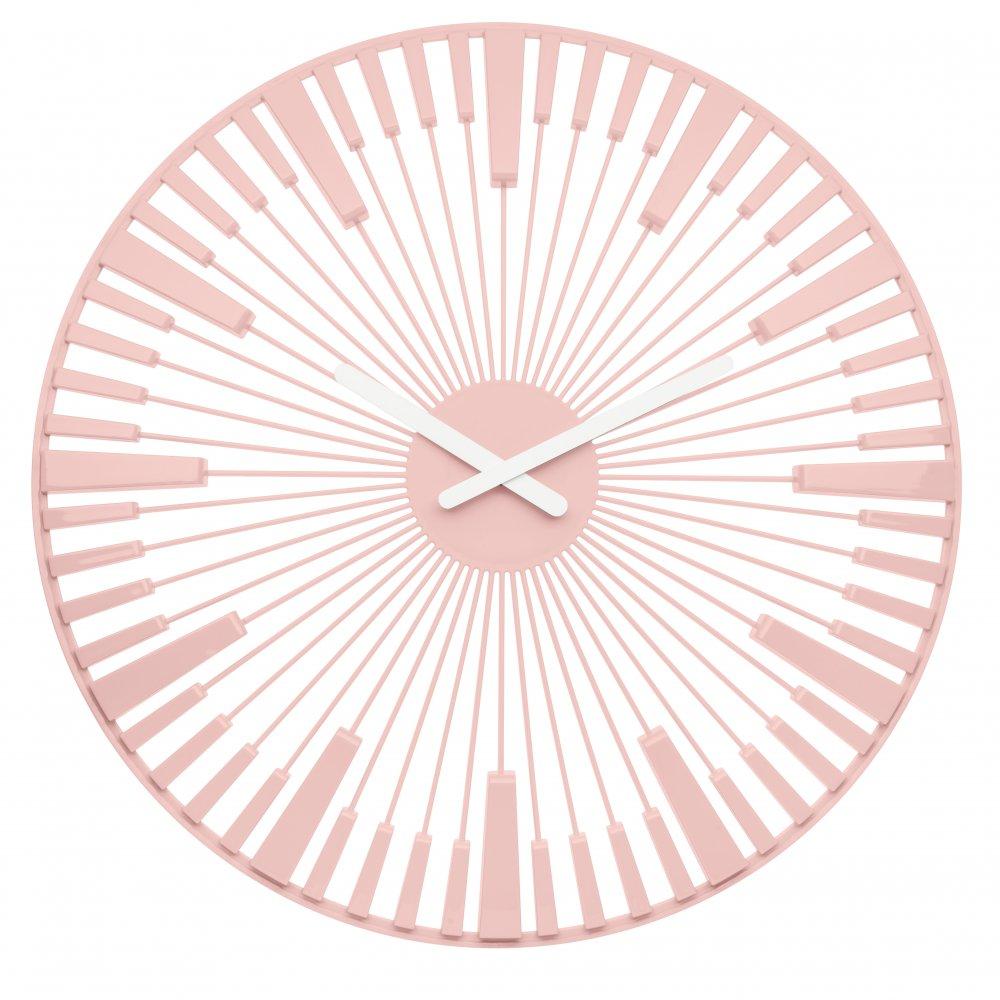 PIANO Wall Clock powder pink