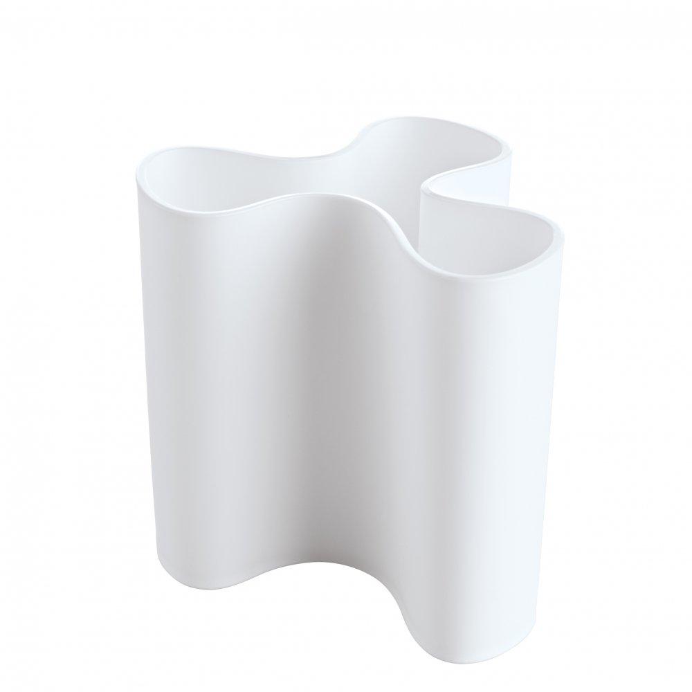CLARA M Vase cotton white