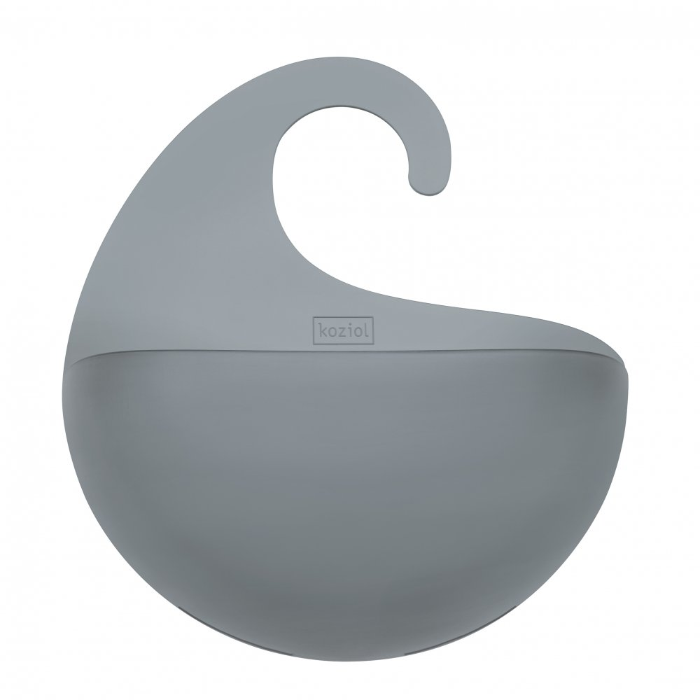 SURF M Utensilo transparent grey