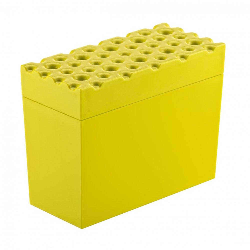 BRØD Knäckebrotdose mustard green