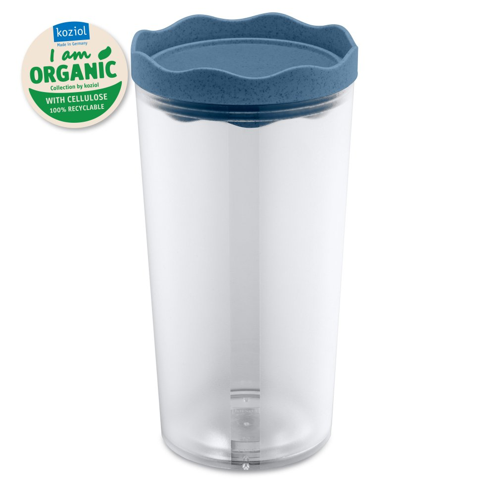 PRINCE L ORGANIC Storage Container 1l organic deep blue