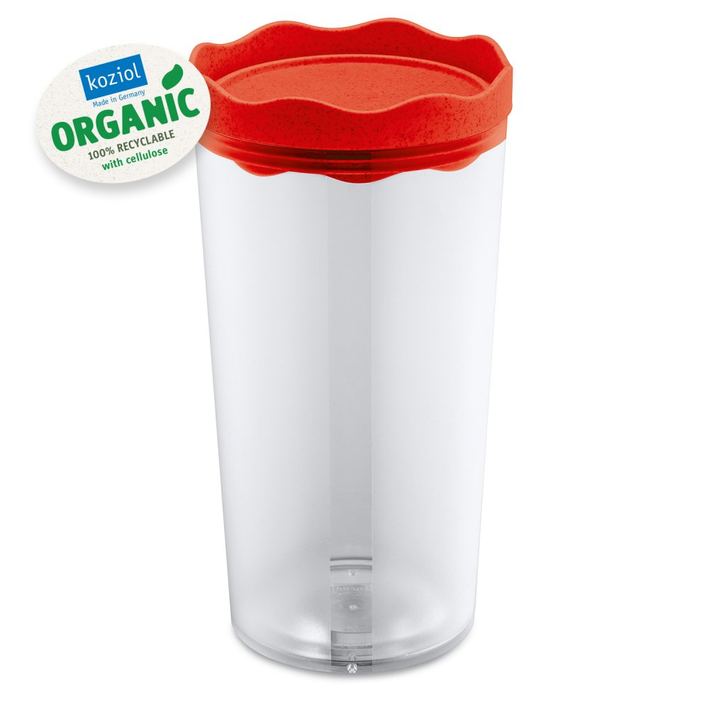 PRINCE L ORGANIC Storage Container 1l organic red