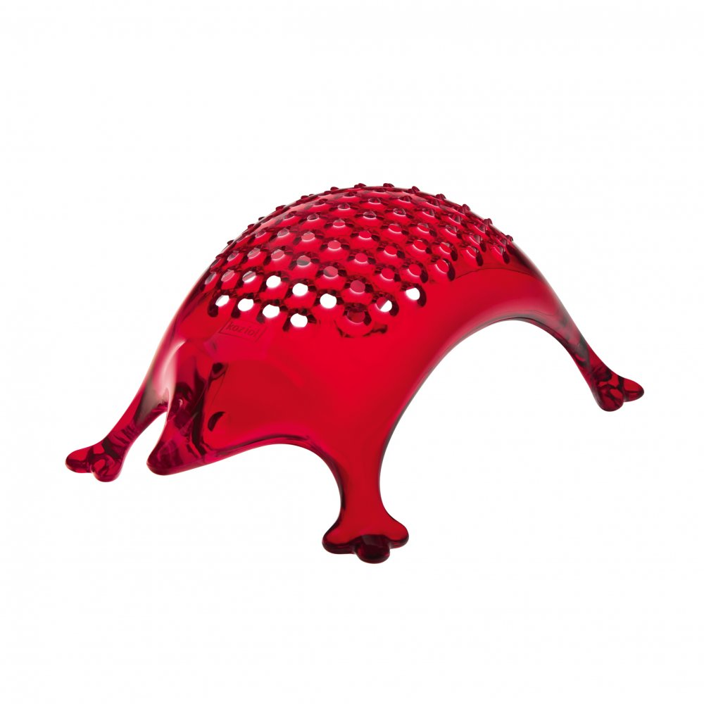 KASIMIR Cheese Grater transparent red