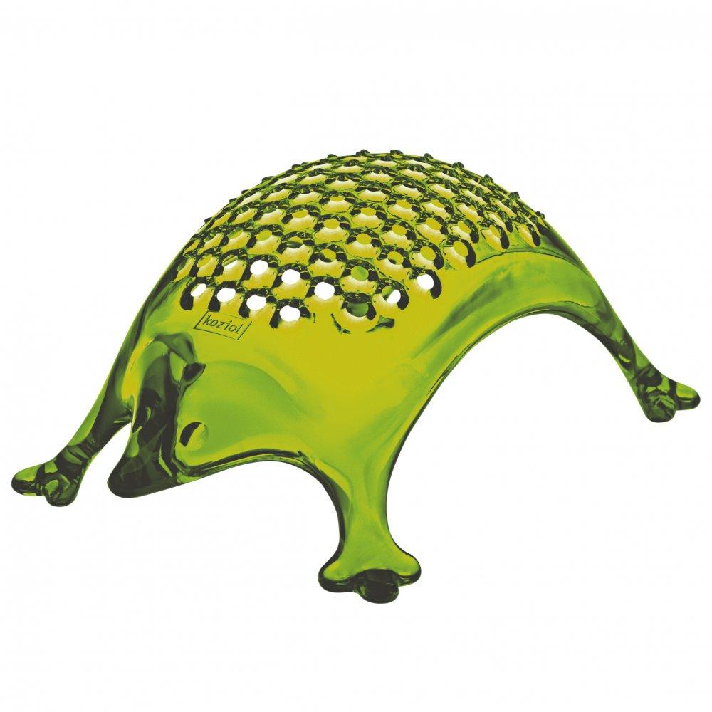 KASIMIR Käsereibe transparent olive green