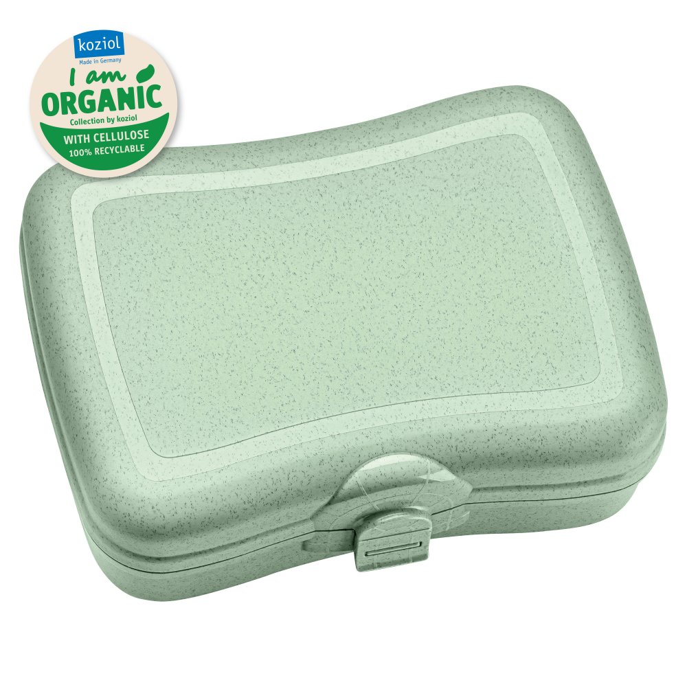 BASIC ORGANIC Lunch Box organic green