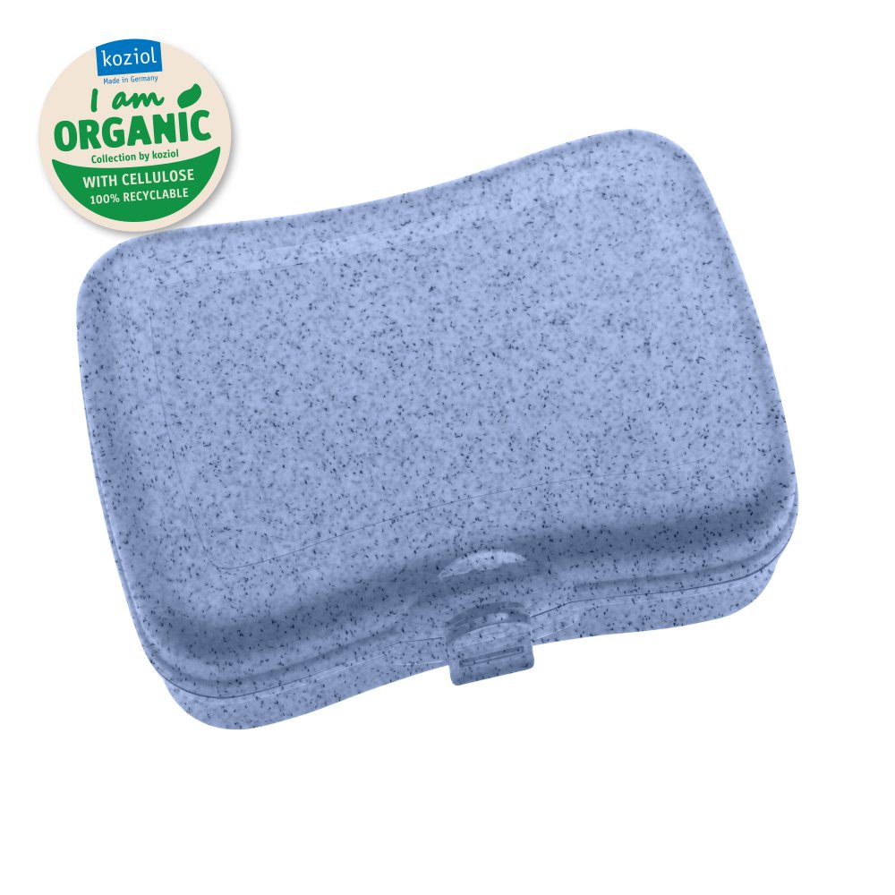 BASIC ORGANIC Lunchbox organic blue