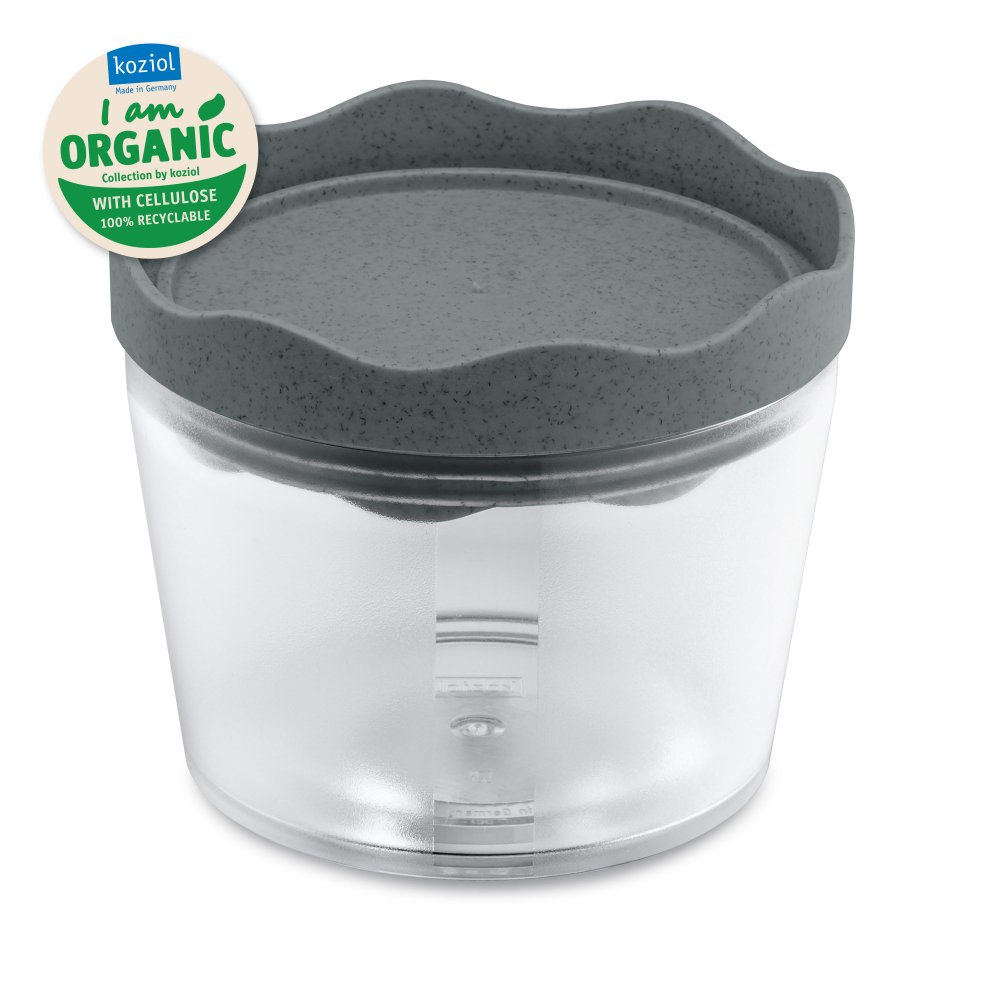 PRINCE S ORGANIC Storage Container 300ml organic deep grey