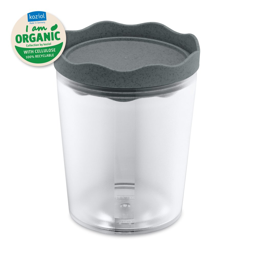 PRINCE M ORGANIC Storage Container 750ml organic deep grey