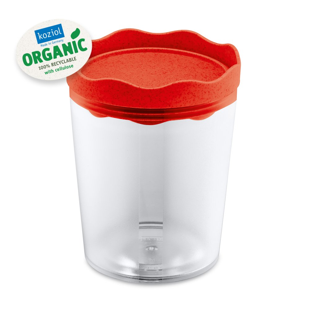 PRINCE M ORGANIC Storage Container 750ml organic red
