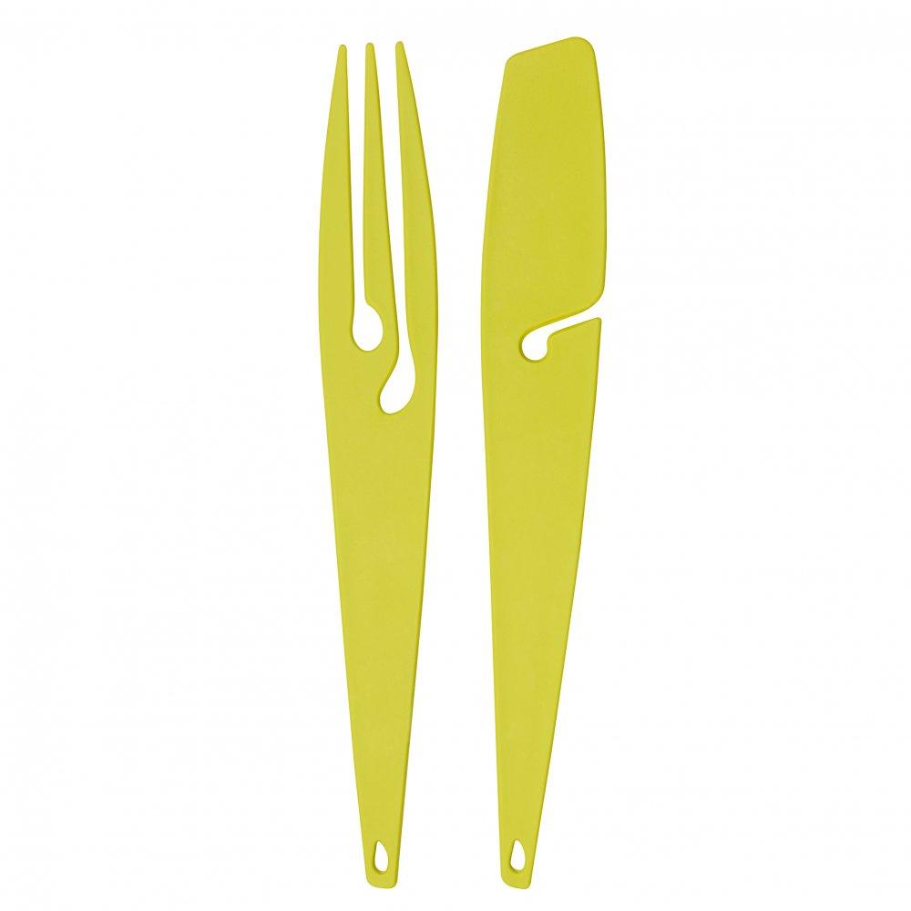 SHADOW Grillbesteck mustard green