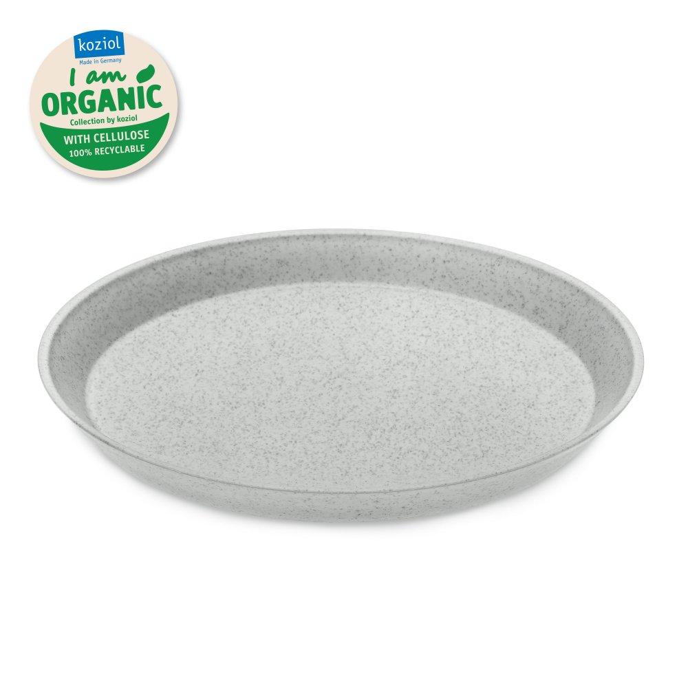 CONNECT ORGANIC small plate 205mm organic grey