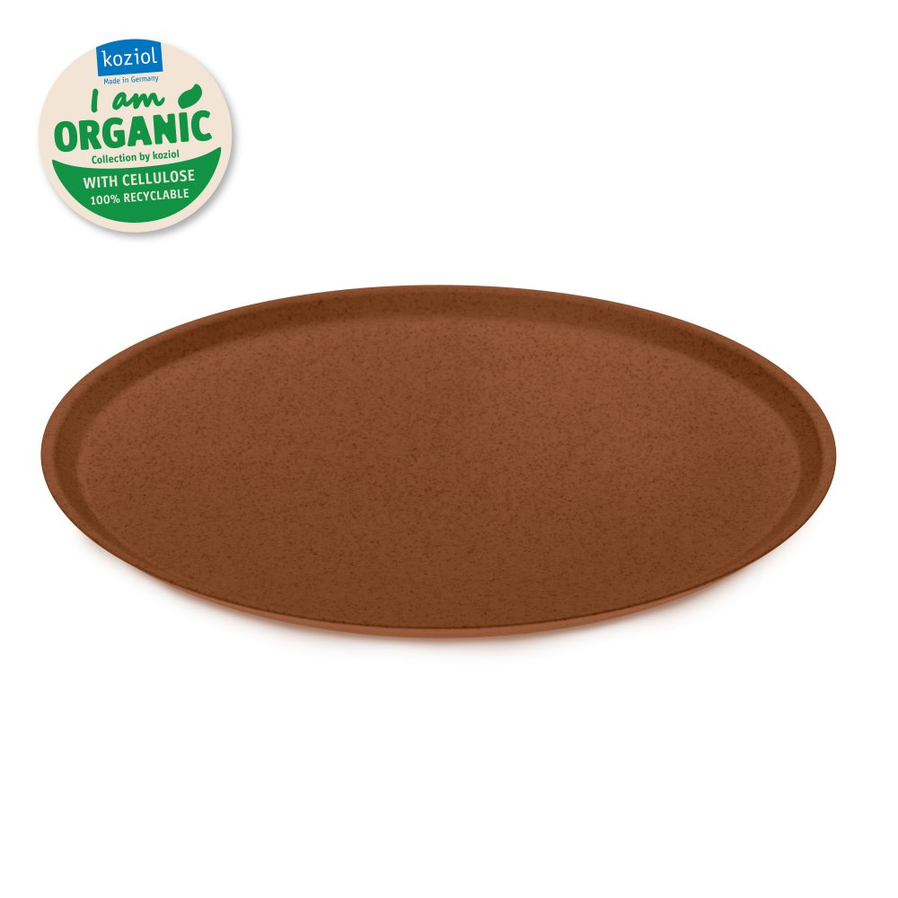 CONNECT ORGANIC large plate 255mm organic rusty steel