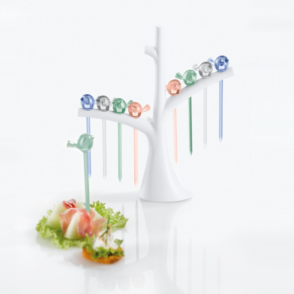 [pi:p] Hors d'oeuvres forks with tree
