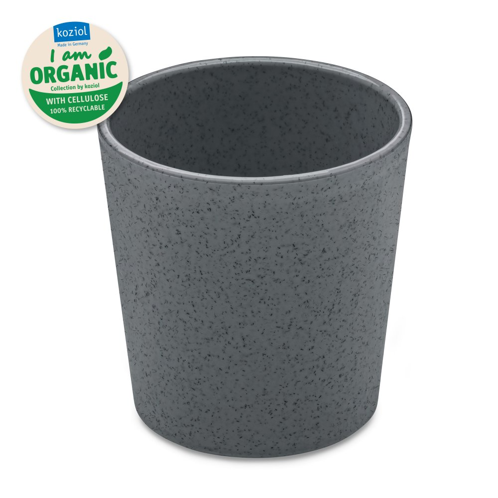 CONNECT ORGANIC Cup 190ml organic deep grey