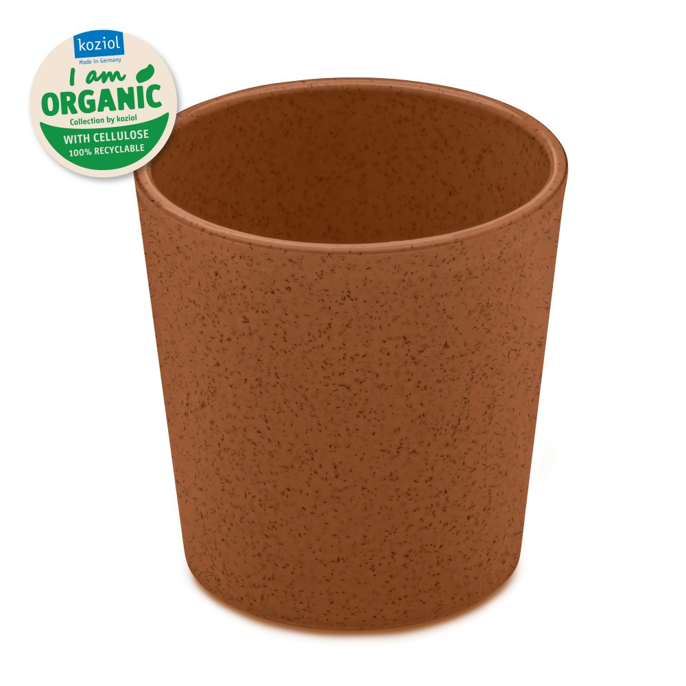 CONNECT ORGANIC Cup 190ml organic rusty steel